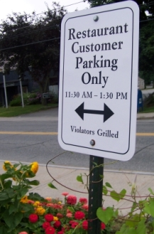 Violators Grilled