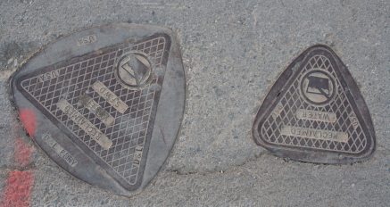 Reuleaux Triangle Manhole Cover